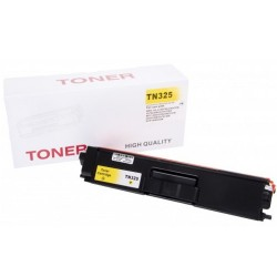 Toner do Brother TN-325Y, zamiennik do Brother HL-4150, HL-4140, DCP-9055, DCP-9270