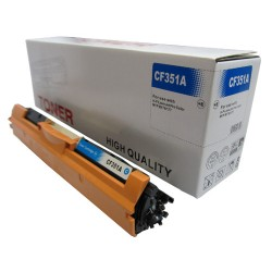 Toner do HP 130A, cyan,  HP CF351A, zamiennik do hp M176, hp M177