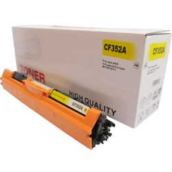Toner do HP 130A, yellow,  HP CF352A, zamiennik do hp M176, hp M177