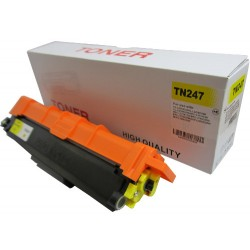 Toner do Brother TN-247Y, zamiennik do Brother HL-L3210CW, DCP-L3510CDW, MFC-L3770CDW